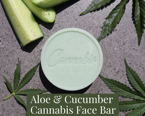 Aloe & Cucumber Cannabis Face Bar