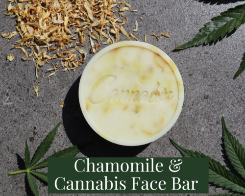 Chamomile & Cannabis Face Bar