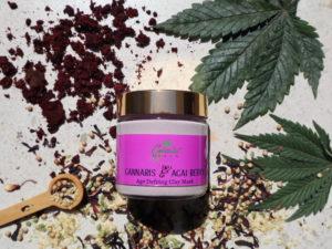 Acai Berry & Cannabis Age Defying Clay Mask