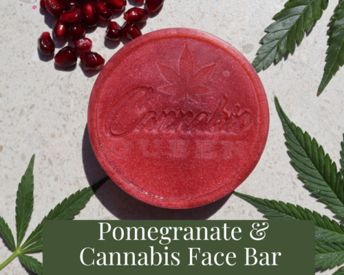 Pomegranate & Cannabis Face Bar
