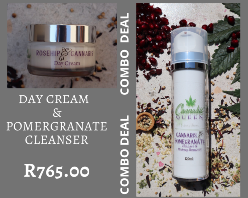 Rosehip Day Cream & Pomegranate Cleanser