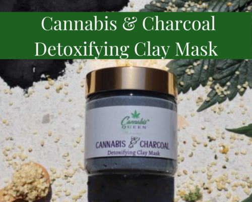 Charcoal & Cannabis Detoxing Clay Mask