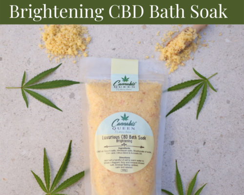 Luxurious Brightening CBD Bath Soak