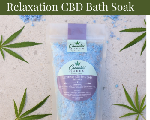 Luxurious Relaxation CBD Bath Soak