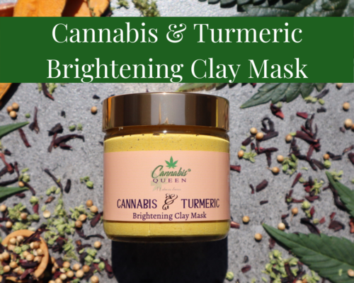Turmeric & Cannabis Brightening Clay Mask
